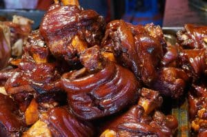 Bizarre food in China is common at night markets