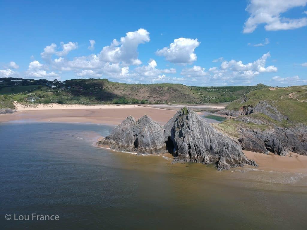 The Gower Peninsula is a top Instagram location in Wales