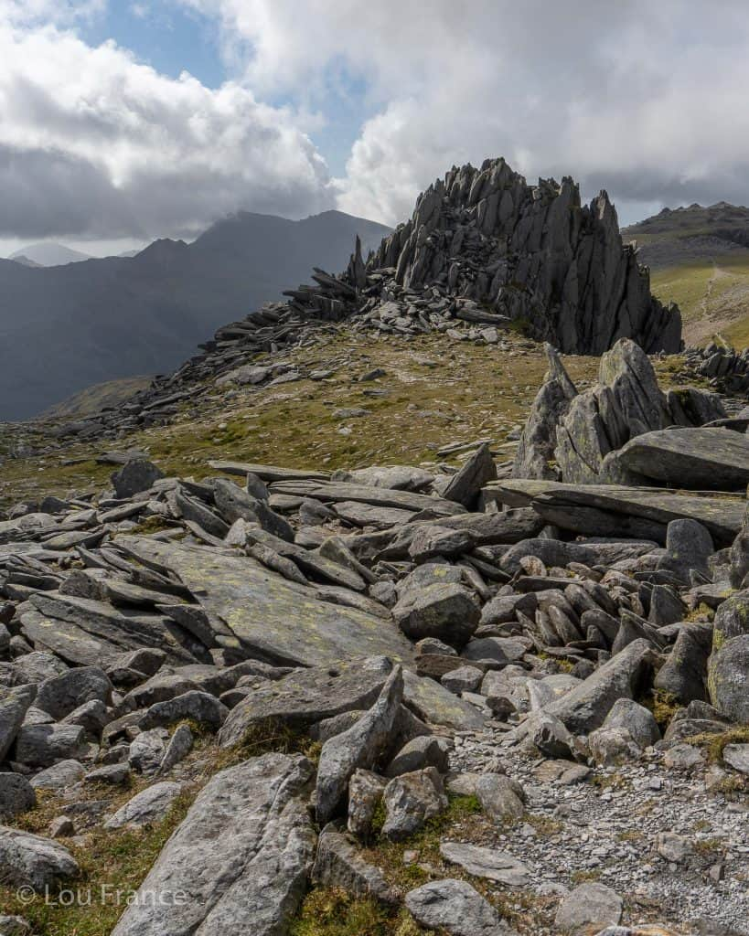 Castell Y Gwynt on the Glyders is great for photographing unique rock formations