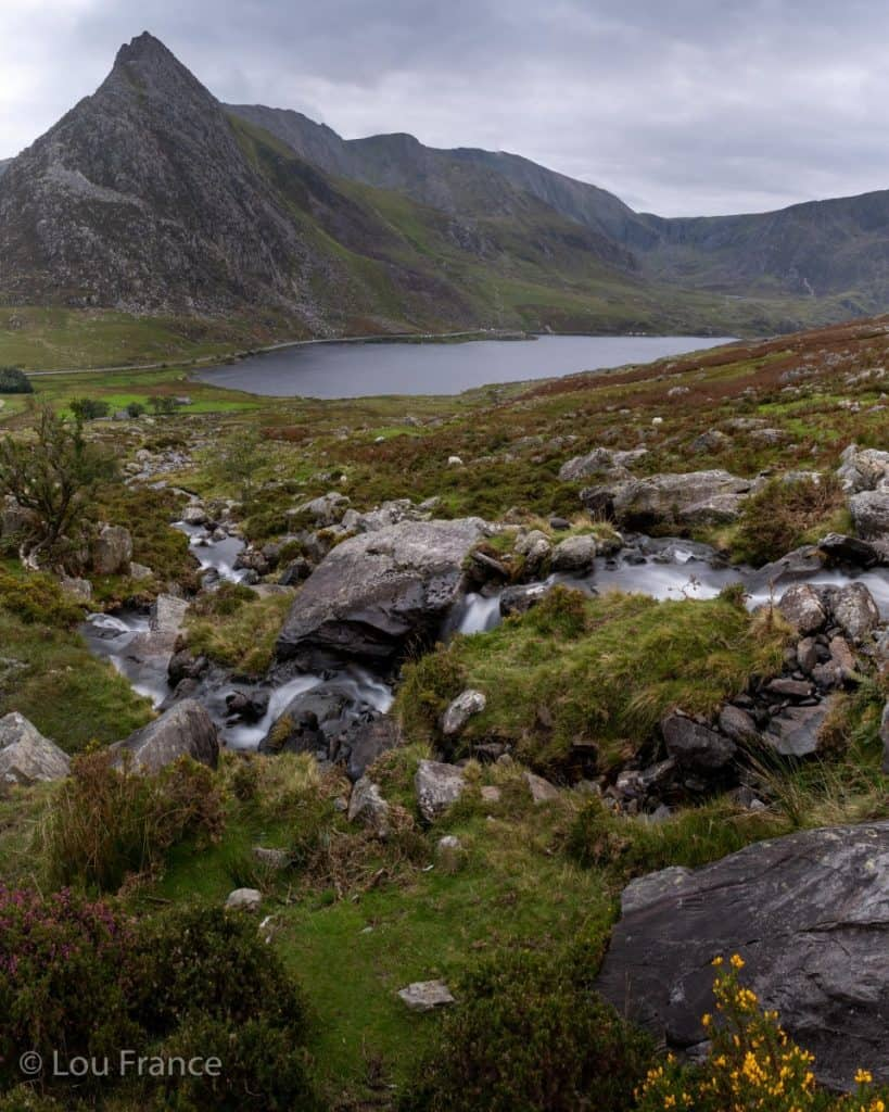 The Ogwen valley is a great location for photography in North Wales