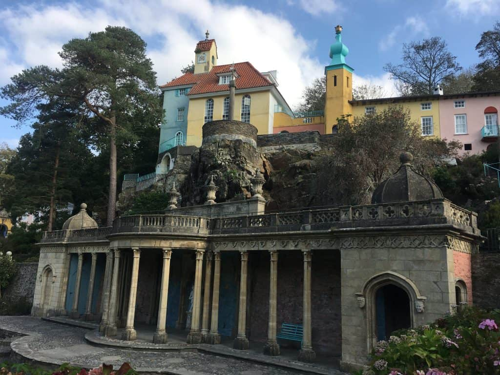 Portmeirion is one of the prettiest places in Wales