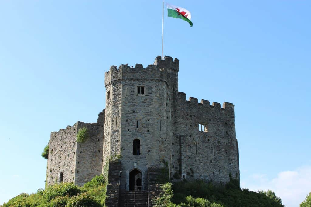 Castles rank as one of the top places to visit in Wales