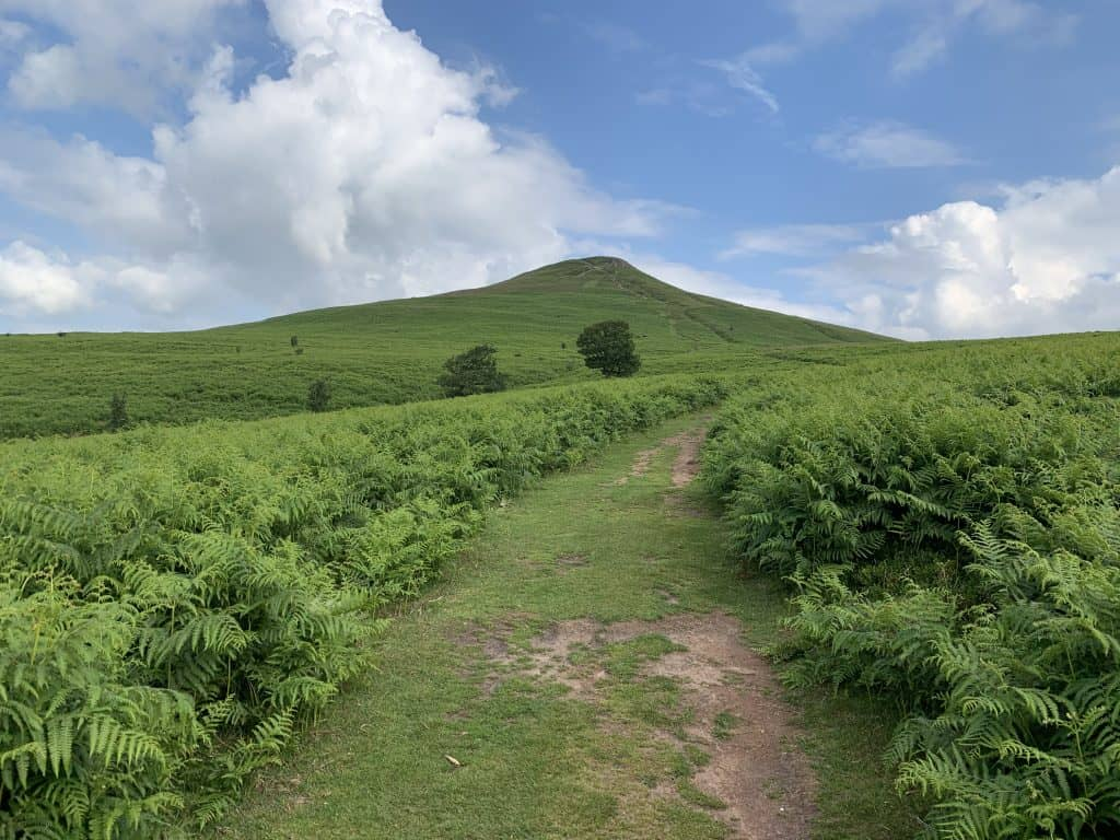 The Sugarloaf mountain, Wales