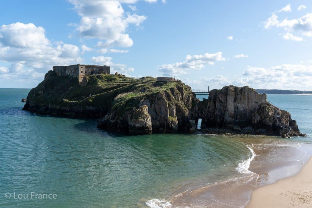St Catherin's fort is one of the best things to do in Tenby