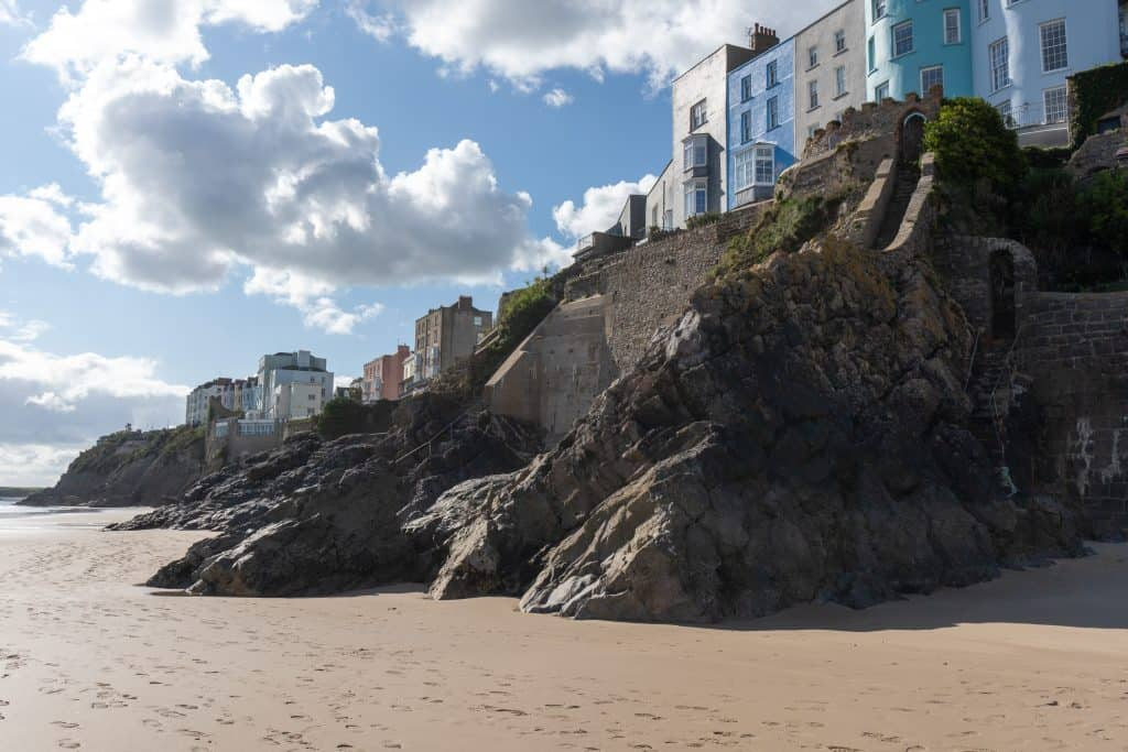 North beach is a top attraction in Tenby