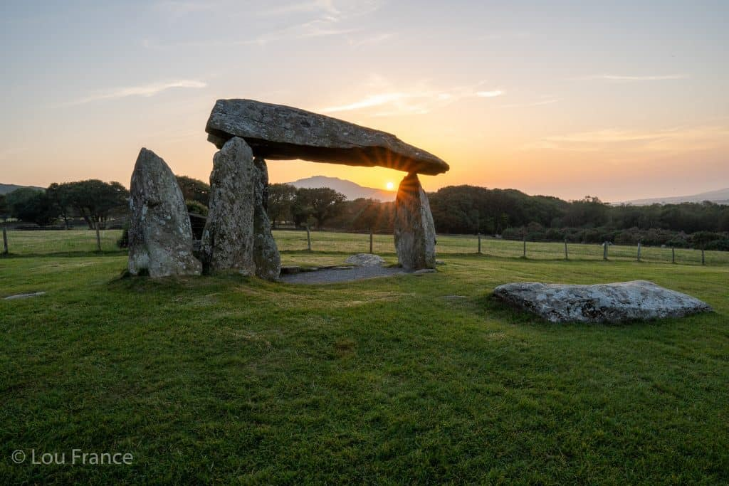 Pentre Ifan is a prefect location in Wales for Instagram photos